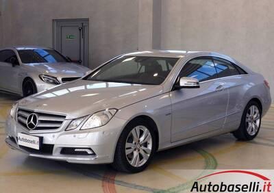 Mercedes-Benz Classe E Coupé 220 CDI Coupé BlueEFFICIENCY Avantgarde usata
