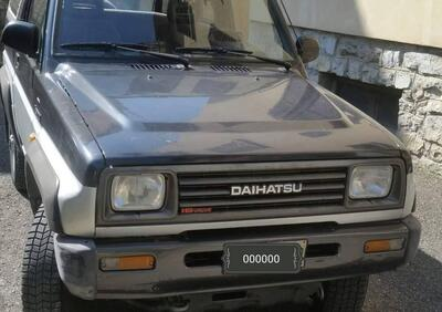 Daihatsu Feroza 1.6i cat Resin-top EL-II